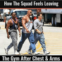 😂💪🏼 . @DOYOUEVEN 👈🏼 10% OFF STOREWIDE (use code DYE10 ✔️ tap the link in our BIO 🎉: How The Squad Feels Leaving  The Gvm After Chest & Arms 😂💪🏼 . @DOYOUEVEN 👈🏼 10% OFF STOREWIDE (use code DYE10 ✔️ tap the link in our BIO 🎉