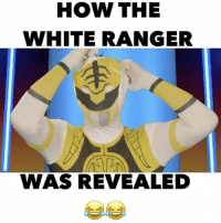 HOW THE WHITE RANGER WAS REVEALED 👀 w- @marlon_webb @chauncey_stubbs @arberi_ferraj @novellofficial @katherinelucia @nampaikid 🎥: @poteetfilms: HOW THE  WHITE RANGER  WAS REVEALED HOW THE WHITE RANGER WAS REVEALED 👀 w- @marlon_webb @chauncey_stubbs @arberi_ferraj @novellofficial @katherinelucia @nampaikid 🎥: @poteetfilms