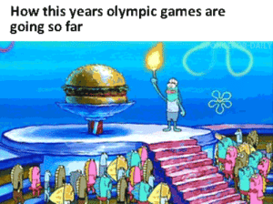Games, Never, and How: How this years olympic games are  going so far  DATLT Theyll never top the fry cook games