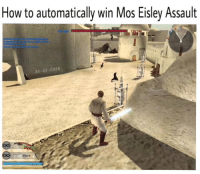"""At-At, Jedi, and Memes: How to automatically win Mos Eisley Assault  AT-AT-Core Only real Star Wars fans will get it  Posted by Jackson Nyein on """"Just Jedi Memes"""""""