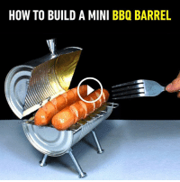 Dank, Roast, and How To: HOW TO BUILD A MINI BBQ BARREL Roast your weiners with style.  By Rincon Util