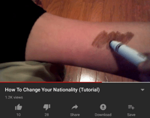 blursed nationality : blursedimages: How To Change Your Nationality (Tutorial)  1.2K views  28  Share  Download  10  Save blursed nationality : blursedimages
