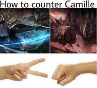 Memes, 🤖, and Realm: How to counter Camille ROCK BEATS SCISSOR! Realm