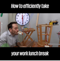Dank, Work, and Break: How to efficiently take  10  3  8  your worklunch break Simple lunchtime hack to get more work done 😂👀  Joseph's Machines