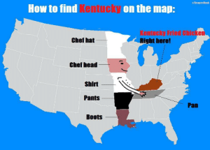 How to find Kentucky on the map!: How to find Kentucky on the map!