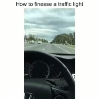 Funny, Traffic, and How To: How to finesse a traffic light  20  160 Cheatcode... funniest15 viralcypher funniest15seconds
