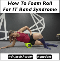 "WHAT FOAM ROLLING ACTUALLY DOES Wow! There were over 1600 comments on last night's IT band post! Thank you guys for coming through with the engagement.🙏❤ From reading through all of those, I think we need to talk a bit about self myofascial release, aka foam rolling as demonstrated here by @quaddoc. . The name is a misnomer. We aren't really ""releasing"" anything. In fact it takes about 2000 pounds of force to stretch and deform fascia. So that little roller is not going to lengthen and loosen it.🙅 Likewise, we can't break up fascial adhesions. Not by hand, tool, or PVC pipe. We just can't generate enough force. . So foam rolling does not create physical change in your tissues. Then what does it do?😕 . It works by altering the input to your nervous system. When you roll over your muscles, you send an ⚡input to your brain that then sends a signal back to give a temporary relaxation. It also dampens pain signals temporarily which is why you feel better for a little bit afterwards. . This has a few implications for us. 🔹You don't have to destroy your muscles. Provide just enough input to get an effect. 🔹You don't need to roll for an hour. 30 seconds to a minute is enough. 🔹Since we aren't making physical change, rolling isn't going to prevent injury. It just helps reduce the perception of tightness. 🔹This is all temporary. If you don't fix the underlying cause as to why you feel tight, nothing will change. So use the roller for what it is. It can be a great tool to make you more comfortable while you work on the real issues. Tomorrow we dive into movement and start making some real long term change. Tag a friend who likes to foam roll and share the wealth! . MyodetoxOrlando Myodetox PS...Sorry for talking so fast. I had to speed up the video a little to get it in the time cap.😅: How To Foam Roll  For IT Band Syndrome  @dr.jacob en quaddoc WHAT FOAM ROLLING ACTUALLY DOES Wow! There were over 1600 comments on last night's IT band post! Thank you guys for coming through with the engagement.🙏❤ From reading through all of those, I think we need to talk a bit about self myofascial release, aka foam rolling as demonstrated here by @quaddoc. . The name is a misnomer. We aren't really ""releasing"" anything. In fact it takes about 2000 pounds of force to stretch and deform fascia. So that little roller is not going to lengthen and loosen it.🙅 Likewise, we can't break up fascial adhesions. Not by hand, tool, or PVC pipe. We just can't generate enough force. . So foam rolling does not create physical change in your tissues. Then what does it do?😕 . It works by altering the input to your nervous system. When you roll over your muscles, you send an ⚡input to your brain that then sends a signal back to give a temporary relaxation. It also dampens pain signals temporarily which is why you feel better for a little bit afterwards. . This has a few implications for us. 🔹You don't have to destroy your muscles. Provide just enough input to get an effect. 🔹You don't need to roll for an hour. 30 seconds to a minute is enough. 🔹Since we aren't making physical change, rolling isn't going to prevent injury. It just helps reduce the perception of tightness. 🔹This is all temporary. If you don't fix the underlying cause as to why you feel tight, nothing will change. So use the roller for what it is. It can be a great tool to make you more comfortable while you work on the real issues. Tomorrow we dive into movement and start making some real long term change. Tag a friend who likes to foam roll and share the wealth! . MyodetoxOrlando Myodetox PS...Sorry for talking so fast. I had to speed up the video a little to get it in the time cap.😅"