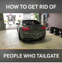 Keep your distance with this guy! 📹:J Nemer: HOW TO GET RID OF  PEOPLE WHO TAILGATE Keep your distance with this guy! 📹:J Nemer