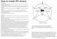 The Ritual: How to install ATI drivers  SPIRIT  REQUIREMENTS:  -5 Candles engraved with one of the elemental symbols of fire, wind, water, earth and  spirit (one symbol per candle)  - Chalk (You must consecrate with sexual energy by either masturbating and allowing  your precum to fall over it, or by having sex and using the love juices generated to cover  the chalk)  - A black marker to draw the hebrew name of Lilith,, as well as her sigil in the  pentacle  - A pleasant incense, put it somewhere where you can smell it but not be seen  - A small metal container where you can burn something without fear of the container  burning or spreading a fire  - A virgin white paper, and a pen or pencil  WIND  WATER  THE RITUAL:  -Draw the circle and the pentacle, the symbols, the hebrew names and the sigil shown in  the picture  -Light the candles and place them at their corresponding place in the pentacle where the  elemental symbol is drawn  -Remove your clothes, and sit on top of Lilith's sigil inside the pentacle, close your eyes  and begin to meditate and enter into trance  - As you are fling into trance, say and repeat several times in a very quiet voice a prayer  to Lilith. You must create this prayer, as it must come from deep within yourself. Imagine  the most sexual woman you can picture with your mind while you perform the prayer  - Take the virgin piece of paper and write your desire to Lilith, write it with great lust to  charge the paper with sexual energy. Then burn the paper in the metal container by  using the candle with the fire element sigil. Perform another set of prayers to Lilith  - After finishing the prayers to Lilith, open your eyes lay upside on the triangle and  continue thinking of the woman you were thinking of, and imagine with all your might a  sexual encounter with her  While you do this, do not masturbate, and vocally ask Lilith to send one of her servants to  your call, and offer yourself to a succubus  - Lay in the pentagram, thinking of hav