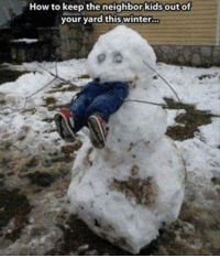 Mexican Word of the Day: How to keep the neighbor kids out of  your yard thi  winter.co