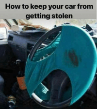 how: How to keep your car from  getting stolen