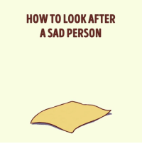 Memes, How To, and Sad: HOW TO LOOK AFTER  A SAD PERSON