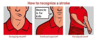 Confused, How To, and Kids: How to recognize a stroke  Bionicle  is for  kids  Drooping mouth?  Confused speech?  Paralysed arm?
