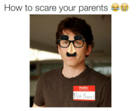 Hello, Parents, and Scare: How to scare your parents  Hello  my name is  Prward https://t.co/bH4gzqIzXP