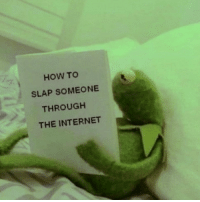 Internet, Memes, and How To: HOW TO  SLAP SOMEONE  THROUGH  THE INTERNET Tag