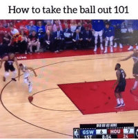 Basketball, Be Like, and Sports: How to take the ball out 101  VIR OR GO HOME  ST 8:54 2 Rough end to the series 🙈💀 (H-t @spark_sports, @basketballvines)