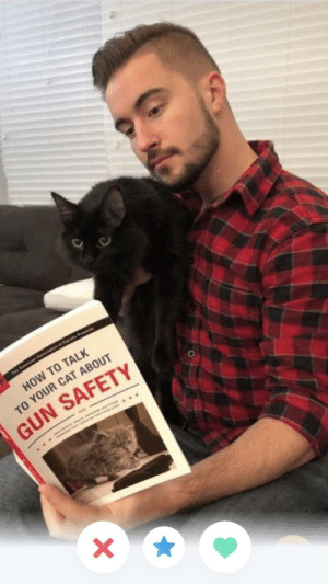 How To, Tumbler, and How: HOW TO TALK  o YOUR CAT ABOUT  GUN SAFETY 99% sure he is a tumbler