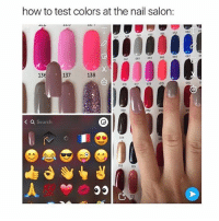 Funny, Meme, and Memes: how to test colors at the nail salon  053  049  042  063  13  137  138  S 076 07m  078  079  081  090  093  < a Search  104  119  133 yes i know this is an oldie but it's also a goldie . . . . . [ funny memes meme comedy comics cool textpost textposts l4l likeforlike laugh funnypictures pictures funnymemes humor post relateable ]