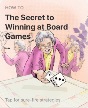 mlgspacememe: darkness1356:  Grandma activating her stand power  D'ardy's lesser known grandma, D'ebbie : HOW TO  The Secret to  Winning at Board  Games  Tap for sure-fire strategies mlgspacememe: darkness1356:  Grandma activating her stand power  D'ardy's lesser known grandma, D'ebbie