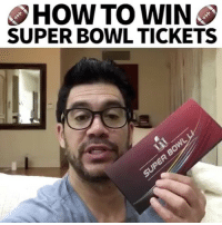 Memes, Superbowl, and 🤖: HOW TO WIN  SUPER BOWL TICKETS Who wants these two super bowl tickets? How to enter. 1. Leave a comment and tag 3 friends. 2. Tell your friends to follow me and comment below with your insta username saying you referred them. 3. I'll pick one name and then the winner and their referral friends get the tickets for this Sunday! (Note you will have to cover travel and lodging and expense. Im covering the two tickets. superbowl