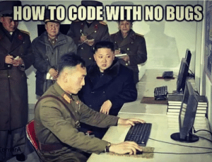 No pressure!: HOW TOCODE WITH NOBUGS  TomerA No pressure!