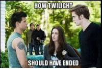 Twilight: HOW  TWILIGHT  SHOULD HAVE ENDED