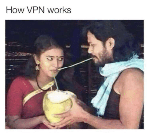 Tech supports know their best.: How VPN works Tech supports know their best.