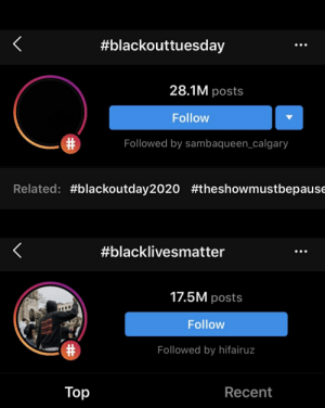 how we got 28 million posts of black squares in one day while #blacklivesmatter got 17 mill posts in like 5 years lol https://t.co/bWuKOB2RDA: how we got 28 million posts of black squares in one day while #blacklivesmatter got 17 mill posts in like 5 years lol https://t.co/bWuKOB2RDA