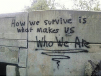 How, Whet, and Survive: How we survive is  whet Makes US