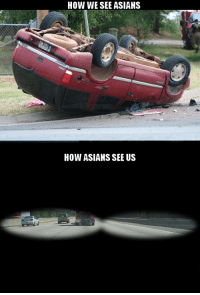 Asians, How, and  See: HOW WESEE ASIANS  HOW ASIANS SEE US