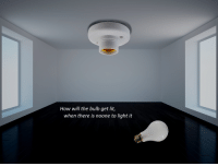"Lit, Reddit, and How: How will the bulb get lit,  when there is noone to light it <p>[<a href=""https://www.reddit.com/r/surrealmemes/comments/7qd27g/light_me/"">Src</a>]</p>"