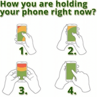 Which way? 🤔😂 https://t.co/n4EEPwlHfZ: How you are holding  your phone right now?  2.  4 Which way? 🤔😂 https://t.co/n4EEPwlHfZ