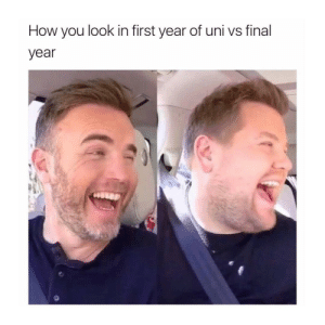Tumblr, Http, and How: How you look in first year of uni vs final  year Follow us @studentlifeproblems​