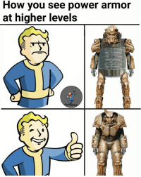 For those who keep asking, I'm JamSack, I've recently joined and will be posting original Fallout content and lore to meet the demand of those who explicitly enjoy Fallout content :) - JamSack: How you see power armor  at higher levels  ivilfallou For those who keep asking, I'm JamSack, I've recently joined and will be posting original Fallout content and lore to meet the demand of those who explicitly enjoy Fallout content :) - JamSack
