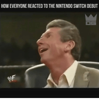 HOWEVERYONE REACTED TO THE NINTENDO SWITCH DEBUT  G