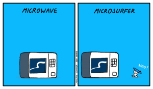 HPC - A comic about microwaves: HPC - A comic about microwaves
