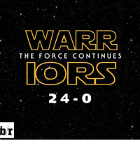 Sports, Ios, and The Force: hr  WARR  THE FORCE CONTINUES  IO RSS Can't stop, won't stop.