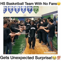 Respect to these 2 Players!🙌🏼💯 (Watch the entire vid😭) @kid.hudi - Follow (ME) @cleanestclipz for more! 🏀: HS Basketball Team With No Fans  ocleanestclipz  ets Unexpected Surprise! Respect to these 2 Players!🙌🏼💯 (Watch the entire vid😭) @kid.hudi - Follow (ME) @cleanestclipz for more! 🏀