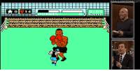 "<p>Mike Tyson takes on <a href=""https://www.youtube.com/watch?v=mfEOHcGFchY&amp;index=4&amp;list=UU8-Th83bH_thdKZDJCrn88g"" target=""_blank"">his Nintendo self in Mike Tyson&rsquo;s Punch-Out</a>!!</p>: HT  O:03  POINTS  0 <p>Mike Tyson takes on <a href=""https://www.youtube.com/watch?v=mfEOHcGFchY&amp;index=4&amp;list=UU8-Th83bH_thdKZDJCrn88g"" target=""_blank"">his Nintendo self in Mike Tyson&rsquo;s Punch-Out</a>!!</p>"