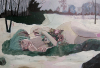 http://alexandralevasseur.com/ https://www.facebook.com/ipreferdrawing/ http://alexandralevasseur.blogspot.hr/  Alexandra Levasseur's oil and pencil paintings are feminine and beautiful but not in a cutesy, saccharine way. There's a darker undercurrent, something just a little sinister in the empty eyes filled with flowers and faces dug out to reveal a mountains and a cloudy sky. There's a surreal, dreamy quality to her half-abstracted landscaped portraits; the purple and green skies are particularly enchanting and Levasseur's color palette is lovely in its subdued, pastel hues.  #alexandralevasseur #art #surreal: http://alexandralevasseur.com/ https://www.facebook.com/ipreferdrawing/ http://alexandralevasseur.blogspot.hr/  Alexandra Levasseur's oil and pencil paintings are feminine and beautiful but not in a cutesy, saccharine way. There's a darker undercurrent, something just a little sinister in the empty eyes filled with flowers and faces dug out to reveal a mountains and a cloudy sky. There's a surreal, dreamy quality to her half-abstracted landscaped portraits; the purple and green skies are particularly enchanting and Levasseur's color palette is lovely in its subdued, pastel hues.  #alexandralevasseur #art #surreal