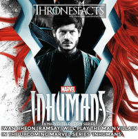 Great actor who plays great villains 👌🏼 Ramsay, Hitler and now Maximus: http:/finstagram.com/thronesf  MARVEL  A MARVEL TELEVISION SERIES  IWAN RHEON(RAMSAY WILL PLAY THE MAIN VILLAIN  IN THE UPCOMING MARVEL SERIESNHUMANS  IN THE UPCOMING MARVEL SERIES INHUMANS Great actor who plays great villains 👌🏼 Ramsay, Hitler and now Maximus