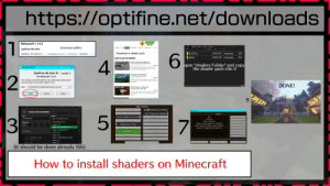 "Microsoft, Minecraft, and Smooth: https://optifine.net/downloads  SHADERS  MODS  Minecraft 1.14.3  Wil  minecraft  AppData  Roaming  shaderpacks  Search shaderpacks  Download optifine  HOME  MODS  POPULAR  PSYCHEDELIC  REALISTIC  SHADER PACKS  Search  OptiFine HD Ultra  Name  Date modified  Туре  Download a shader pack  BSL+7.1.3.1.1p  7/16/2019 423 PM  Compressed (app..  488 KB  Download (mirror) changelog  OptiFine 1.14.3 HD U F1  28.06.2019  6  what!dp  7/16/2019 423 PM  Compresed (ipp..  48 KB  POPULAR SHADERS  4  MINECRAFT  SILDUR SSWADERS  Sildur's Shaders for Minecraft  1.14.4/1.14.3/1.13.2/1.12.2/1.11.2  open ""shaders Folder"" andcopy  the shader pack into it  July 9, 2019  163 comments  Sildur's Shaders is a shaders pack that focuses on options. Many  OptiFine Installer  shaders packs out there have some heavy limitations, such as only  working for Microsoft operating systems or  OptiFine HD Ultra F1 install it  Chocapic13's Shaders for  1.13.2/1.12.2/1.11.2/1.10.2  2  for Minecraft 1.14.3  October 30, 2018  53 comments  Chocapic13's Shaders mod is the baseline for many other shader mods  This installer will install OptiFine in the official Minecraft launcher  and will create a new profile ""OptiFine"" for it.  out there, as you can learn just from checking a number of shader pack  pages in places.  DONE!  C:\Users RAC3114AppDataRoaming \.minecraft  Folder  KUDA Shaders for Minecraft  POPULAR SHADERS  ..  1.13.2/1.12.2/1.11.2/1.10.2  103 comments  September 10, 2018  The KUDA Shaders mod is one of the most popular shader packs of all  time for Minecraft 1.13.2 and 1,12,2. This is because it's a well-made  Install  Cancel  Extract  addition, with..  8  BUILD BRTTLE  Video Settings  Latest played  VStable Snapsh  Rend  Distance: 12 chunks  Graphics: Fast  Minecraft 1.14.3  Create new installation  (installation tab)  Smooth Lighting: MaxinuM  Max Framerate: Unlimited  Shaders  5  NAME  VERSION  Smooth Lighting Level: 100  OFF  View Bobbing: ON  fintialiasing: OFF  7  Find Water Sheep  release 1.14.3-OptiFine_HD_U_F1  3  Kinternal)  Normal Map: 0N  GUT Scale: 2  Jse VBOS: 0N  BSL+v7.1.03.1.zip  Latest release (1.14.4)  Specular Map: ON  RESOLUTION  Sildurs Vibrant Shaders v1.18 High.zip  Fittack Indicator: Crosshair  Brightness: Moody  release 1.14.4  Fiender Quality: 1x  <auto>  <auto>  Sildurs Vibrant Shaders v1.21 Extreme.zip  release 1.14.3-OptiFine_HD_U_F1  Dynamic FOV: ON  you havn't played tuber sinulator.zip  Dynanic Lights: Fast  Shadow Quality: 9.7x  release 1.14.3-forge-27.0.23  Hand Depth: 1x  MORE OPTIONS  select pack  Shaders...  Quality..  release 1.14.3  Qld Hand Light: Default  release 1.14.2  Per formarice...  Details...  Old Lighting: Default  release 1.14-0pti Fine_HD_U_F1_pre5  Wurst MC 1.12 OF  gther...  Firinations...  OpenGL: 4.6.0 NVIDIA 431.36, NVIDIA Corporation, GeForce GTX 1050 Ti/FCIe/SSE2  Wurst MC 1.12 OF  release 1.14.1  Shaders Folder  Shader Options..  Done  release 1.14  Done  1.12  HD ELT
