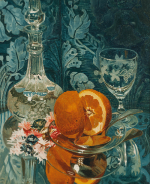 huariqueje:  Still life with orange  -   Cornelio Geranzani  Italian,  1880-1955 Oil on canvas,43 x 35.5 cm. : huariqueje:  Still life with orange  -   Cornelio Geranzani  Italian,  1880-1955 Oil on canvas,43 x 35.5 cm.