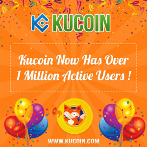 Omg, Tumblr, and Blog: hucoin Now Has Over  1 Million Active Users!  WWW.KUCOIN.COM omg-images:  https://goo.gl/E3AdtuKucoin The Most User Friendly Crypto Exchange.Start Trading Now.