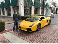 """Memes, Lamborghini, and Stocks: Huge Shoutout to my Buddy @bijantrades for buying himself a Lamborghini at age 22! Go Follow him and keep up with his IG-Snapchat stories to make sure that he's not just taking a picture with some random Lambo! He's giving you a free stock trading webinar in honor of him achieving his goal, go follow him and click the link in HIS bio!"""""""