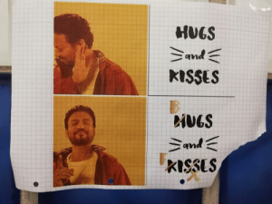 University, Hugs, and Hugs and Kisses: HUGS  and  KISSES  iVGS  and  KISSUS Spotted at my university