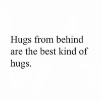 Turn our post notifications on! 💖: Hugs from behind  are the best kind of  hugs. Turn our post notifications on! 💖