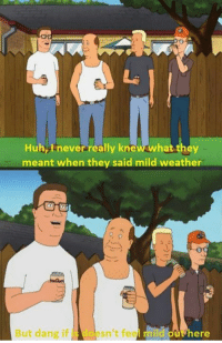 How the weather in the bible belt will be for a week.: Huh, never really kne  they  meant when they said mild weather  esn't feel mild oue here  But dang if How the weather in the bible belt will be for a week.