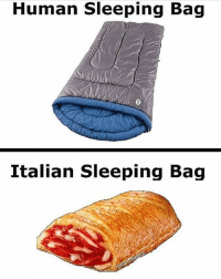 Memes, Bleach, and Hitler: Human Sleeping Bag  Italian Sleeping Bag Who would have known that Italians had such nice sleeping bags😩😩😩 I need to get me one of those bro😭😭 . . •Follow @savagemellow for more memes daily!• . . lmao funnyshit hilarious humor jokes fun nochill follow lol haha meme dead instafunny bruh tumblr hitler jews funny cancerous satire bleach morebleach comedy SJW fistmedaddy humour followme memes filthyfrank papufranku