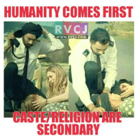 Salute for this Sikh.: HUMANITY COMES FIRST  RVCJ  WWW.RVCU.COM  SECONDARY Salute for this Sikh.